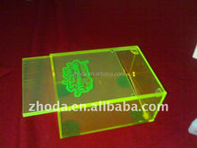 clear and color fluorescent acrylic