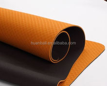 Facotry Supply OEM Logo Printed By Screen Silk TPE Yoga Mat With 8 Colors For Option