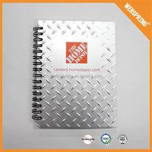 22-0004 Factory price spiral bound notebooks a4 spiral notebook, custom printed spiral notebook