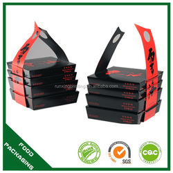 Designer new style food sushi packaging box sushi container