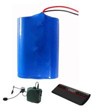 audio equipment lithium battery 7.4v 2600mah