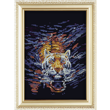 5d Diy Diamond Painting With animal tiger design China Supplier Wholesale 40*50cm
