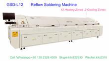 Gsd-l12 rifusione forno, macchina di saldatura selettiva per luce a led che fa e SMT