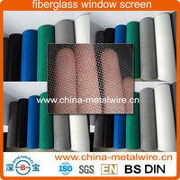 18x16mesh18x18mesh Fire Resistant PVC Plastic Coated Black Grey White Brown Fiberglass Window Screen Mesh (Factory Exporter)