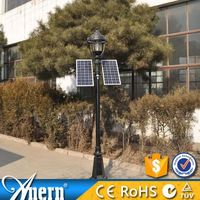 Outside lighting 7W DC12V mushroom solar lights for garden