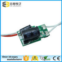 Low voltage 9w to 12w 12V AC DC voltage rise 300mA 320mA constant current MR16 LED solar driver