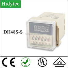 DH48S-S LCD Display Digital Omron Mini Time Timer Delay Relay