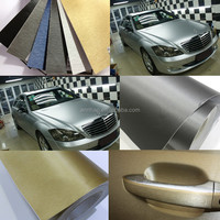 Annhao 1.52*30M Car Body Vinyl Sticker with Bubble Free Brushed Vinyl