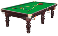 Model cheap solid wood snooker table for sale