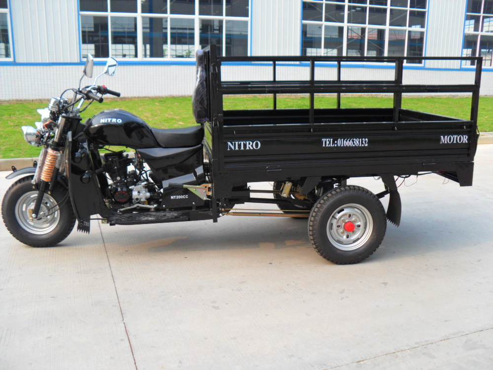 150cc Hot Sale New Design Chinese Adult Cargo Three Wheel Motorcycle