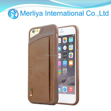 PU leather Wallet Card Holder Case for iPhone 6/6 plus