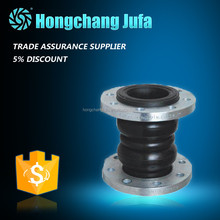 Surplus stock EPDM/carbon steel flange modular expansion joint rubber