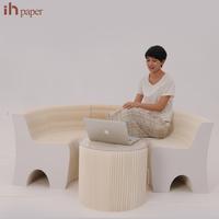 Antique On Sale Latest Design Paper Folding Customized Garden Furniture