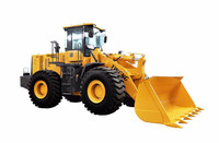 China TOP Brand wheel loader YN966 with Shangchai CAT diesel engine, Pilot Control
