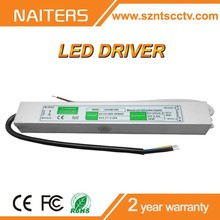 Waterproof IP67 LED Power Supply, constant voltage DC12/24V 30W LED Drivers