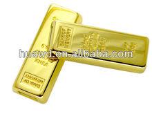 novelty golden products usb flash drive gold bar