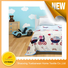 Famouse Brand Shaoxing supplier Soft Feel leopard print baby blanket