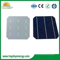 """19%-19.8% 4.5w-4.73w wholesale prices for 6"""" inch efficiency 3BB Mono Solar Cell made in China"""