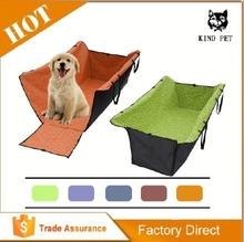 hot sale dog car sea cover/pet car seat cover car