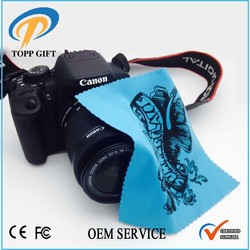 Promotional gift Microfiber camera cleaning cloth