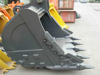 China Suppliers Volvo Bucket Excavator Spare Parts With Tiger Teeth