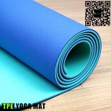 Non-toxic yoga bamboo mat big size yoga mat