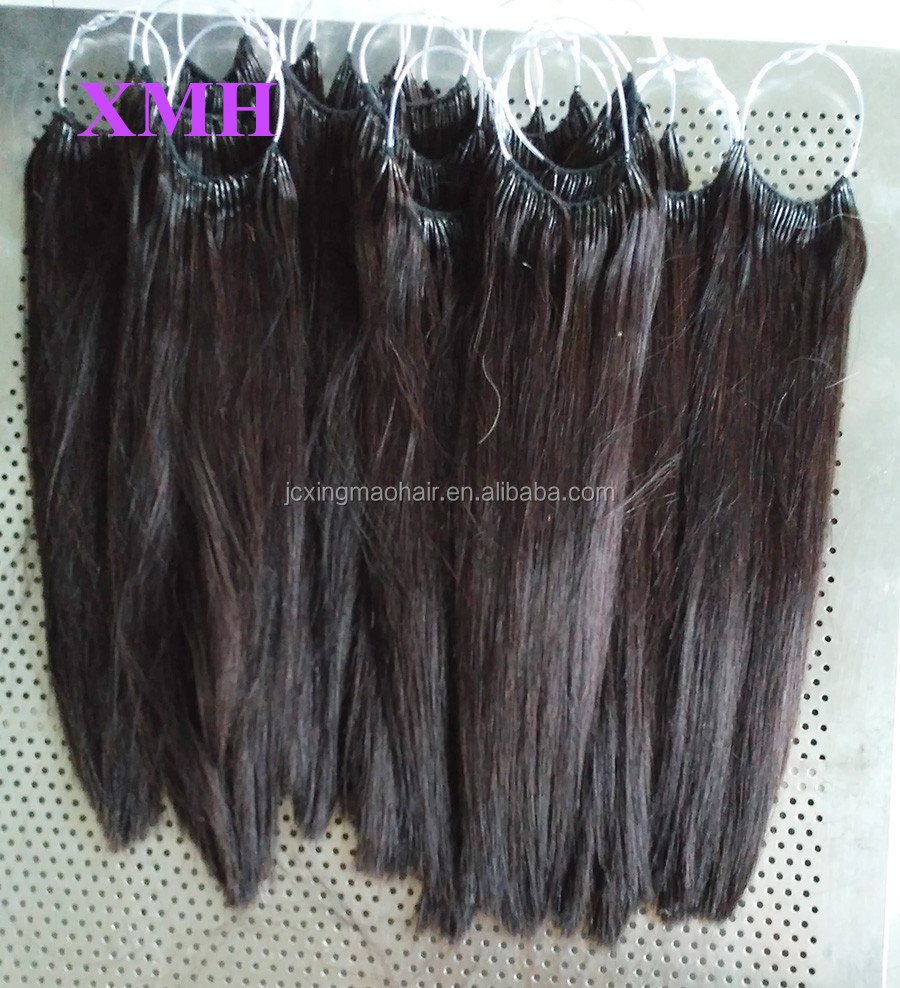 Wholesale Korea Knotted Hair Extension Cotton Thread Hair Extension