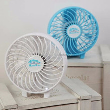 Wireless Portable Handheld rechargeable Mini USB Fan with LED light