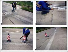 Roads crack repair PU sealant