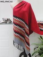 2015 new fleece warm pashmina scarf for women
