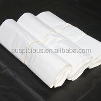 Hot sale cheap price white plastic biodegradable garbage bag on roll