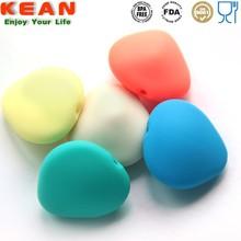 FDA food grade silicone plastic pearl bead curtain
