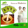 2015 new diabetes supply pure herbal foot bath for reduce blood glucose