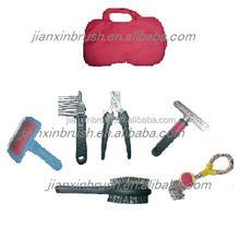 Cat And Dog Grooming Kit Comb Brush Nail Clipper Grooming Box
