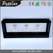 luz LED vitrina de acrilico para el cigarrillo