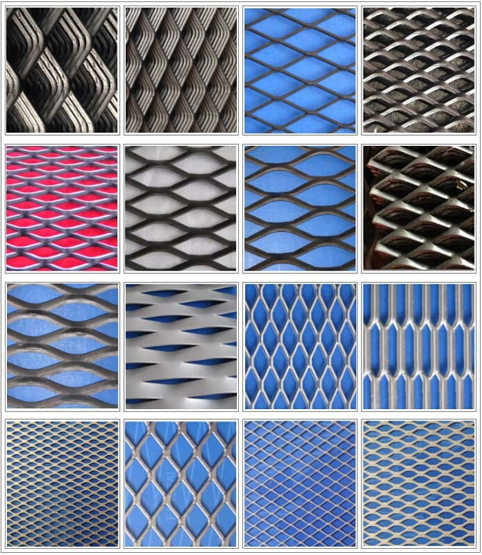 Powder Coated Aluminum Expanded Metal Mesh With Great Price - Buy ...