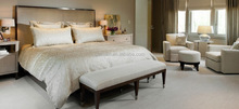 HL1005 Classical Upholstered King or Queen Size headboard Hotel Bedroom Furniture Made in China