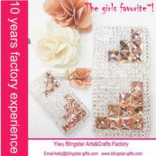 rhinestone diamond bling crystal case for iphone 4