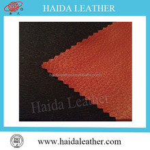 2015 New fabric materials PVC artifical leather for finished leather buyers