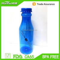 500ml 18oz Promotional Plastic Sports Drinking Bottle for Soft Water RH208-500