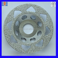 100mm 150mm 180mm 250mm Diamond Grinding Wheel For Carbide /Optical glass /Gemstone