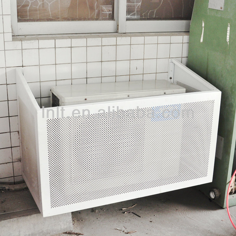 Decorative Air Conditioner Cover Aluminum Framed Wall