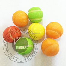 Colorful Tennis chewing gum