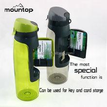 2015 new plastic insulated water bottle 750ml custom foldable filter water bottle