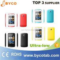 lowest price china android phone/3.5 inch touch screen mobile phone/smart android phone