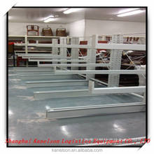 Power coating and heavy duty warehouse adjustable cantilever rack