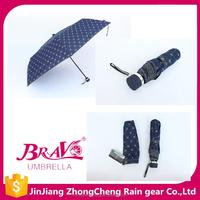 Korea market folding umbrella parts with case