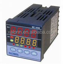 Digital electronic temperature controller with timer for industrial automation