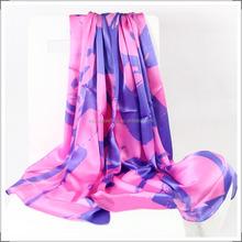 แฟชั่นผ้าพันคอไหมยาว100