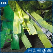 tears sliderfor jackets,SBS rose gold zipper nylon zipper,12# Open-end plastic zipper